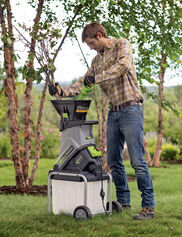 Earthwise Wood Chipper & Leaf Shredder