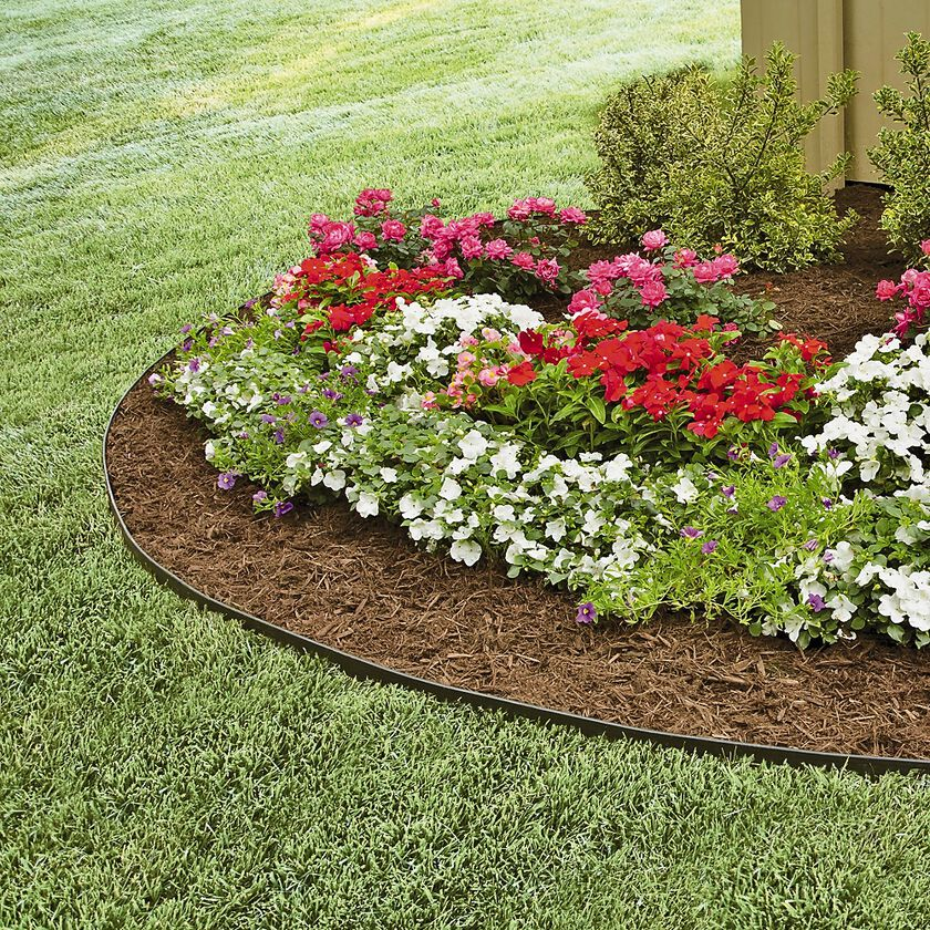 Yard Borders And Edging Ideas: EasyFlex™ No Dig Garden Edging, 50'