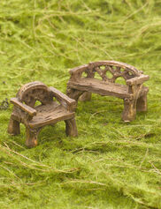 Woodland Miniature Furniture Set
