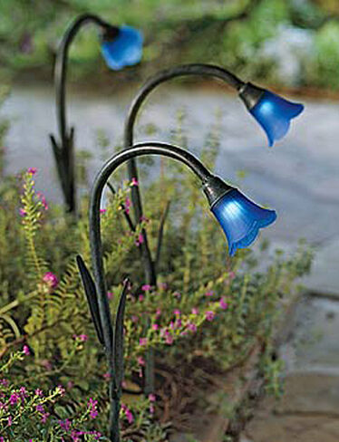 Solar Bluebells Solar Garden Lights Buy From Gardener S