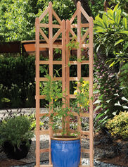 Deco Freestanding Trellis