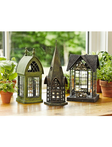 Glass Houses, Set of 3