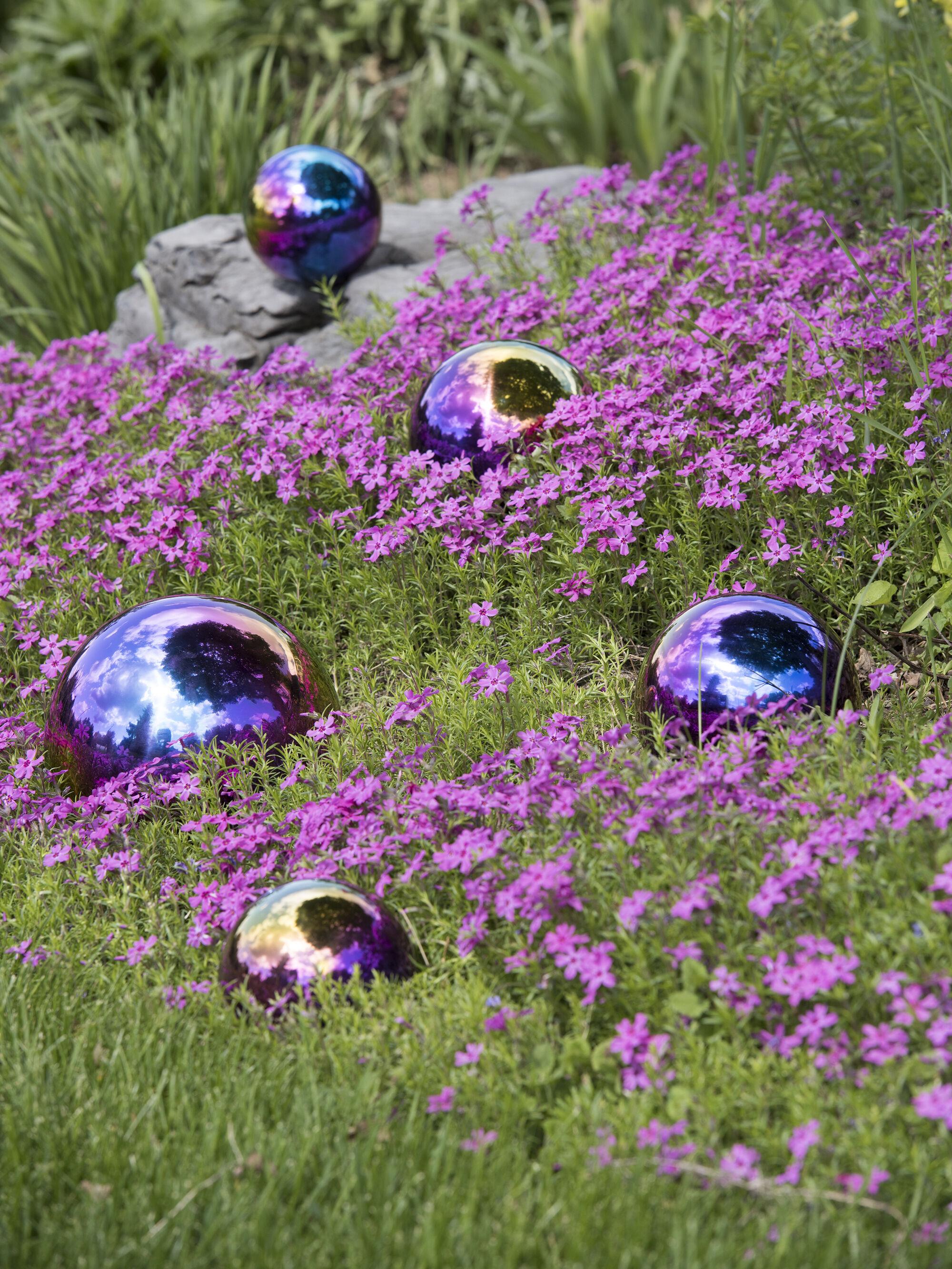 Exceptionnel Gazing Balls Blue U0026 Purple