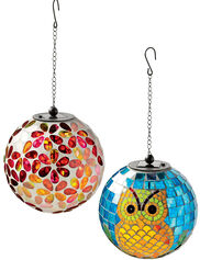 Solar Mosaic Hanging Ball
