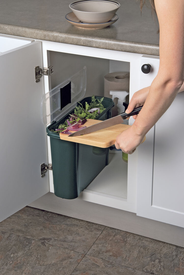 Slimline Compost Caddy Kitchen Compost Crock Gardener 39 S