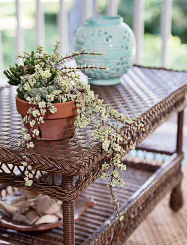 Legacy Outdoor Wicker Coffee Table