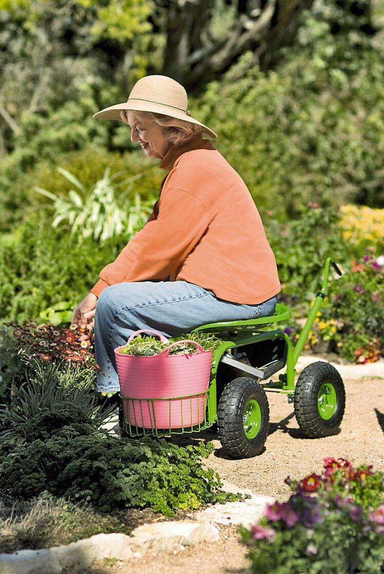 Garden Scoot Rolling Garden Seat Gardenerscom