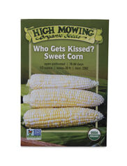 Who Gets Kissed Sweet Corn Organic Seeds