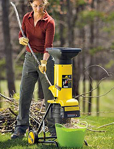 Electric Garden Chipper - Wood Chipper
