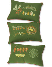 Woodland Treasures Pillows, Set of 3