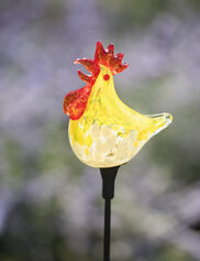 Rooster Solar Garden Stake