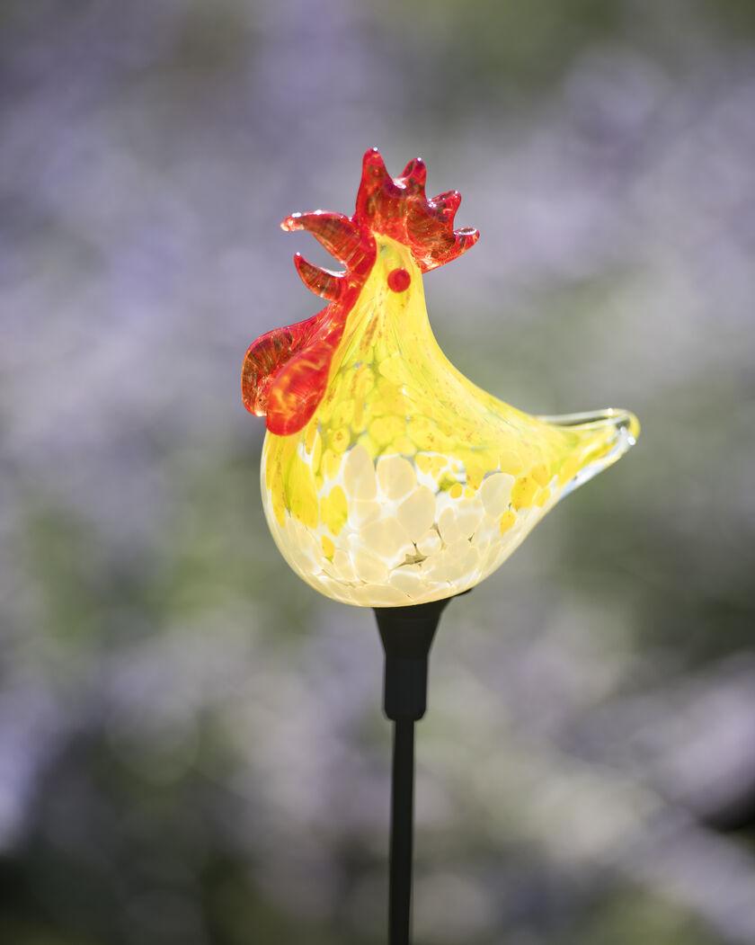 Rooster Solar Garden Stake Solar Bird Solar Stake Light
