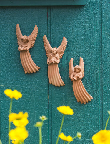 Terra Cotta Angels, Set of 3