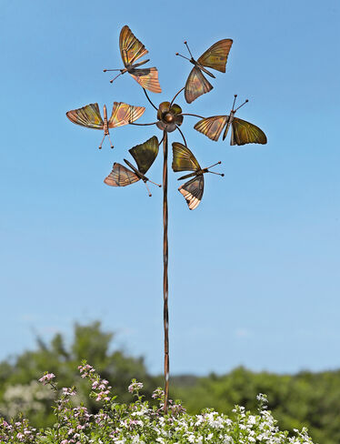 Kinetic Butterfly Stake