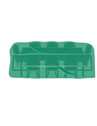 Classic Rectangular Dining Set Cover