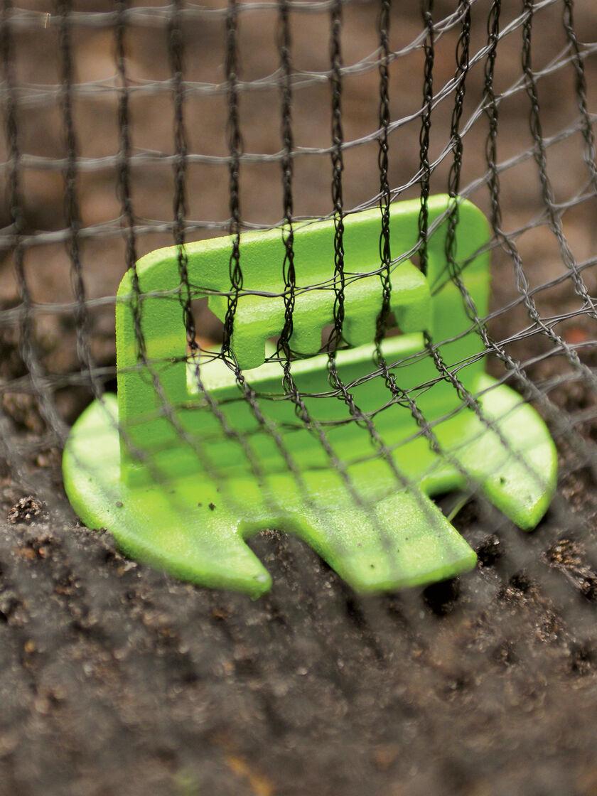Net Claws Set Of 10 Bird Netting Anchors Garden