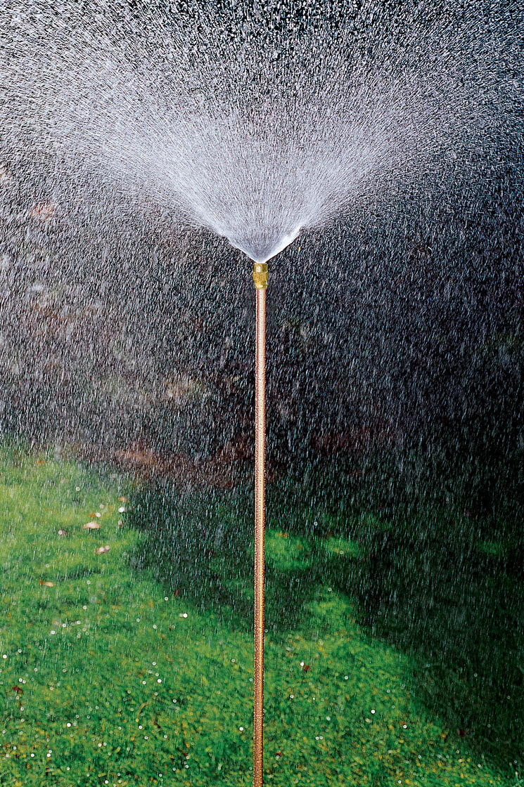 how to put in irrigation system