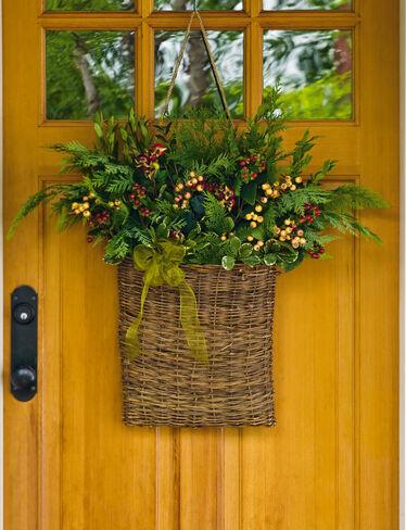 Willow Pocket Basket, Large