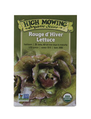 Rouge d'Hiver Lettuce Organic Seeds