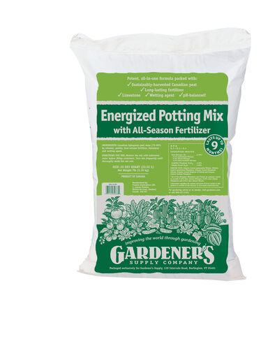 Energized Potting Mix, 20 Qts.