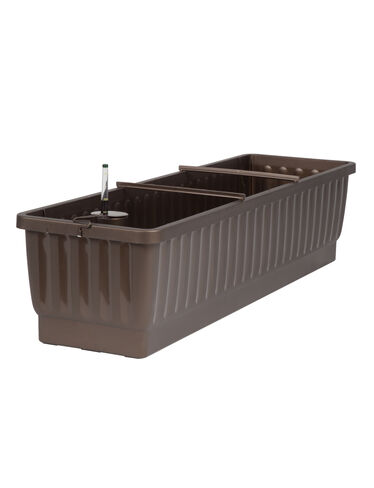 "31"" Self-Watering Windowbox, Bronze"