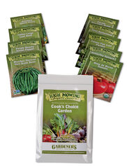 Cook's Choice Vegetable Garden Organic Seeds, Set of 9