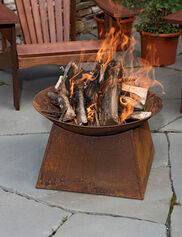 Wood-Burning Fire Bowl
