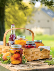 Harvest Berry Gathering Basket