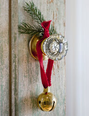 Brass Christmas Bell
