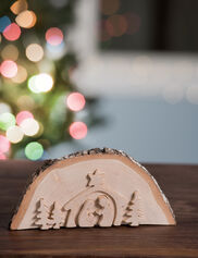 Wood Nativity Display Puzzle