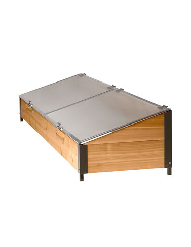 Cedar Cold Frame Cold Frame, Coldframe, Plant Protection, Season Extenders, Greenhouse, Patio Greenhouse, Plant Cover