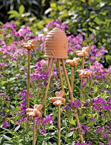 Honeybee Garden Finials