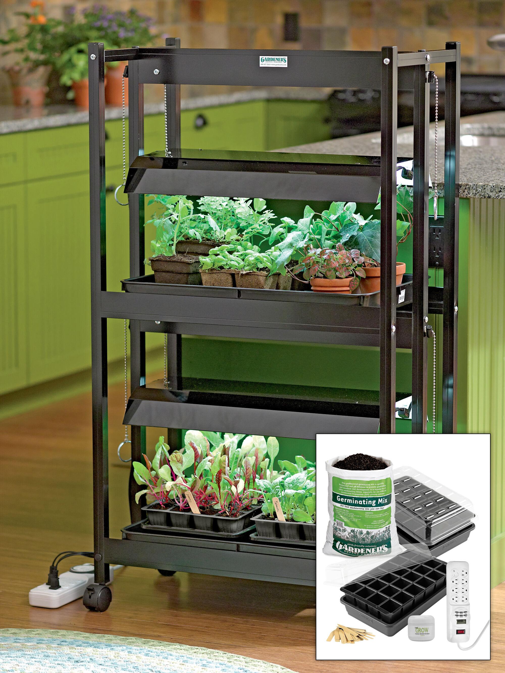 compact 2 tier sunlite garden jump start kit