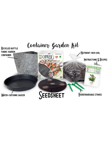 Grow Your Own Caprese Container Garden Kit