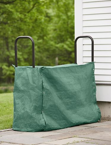 *4′ log rack cover