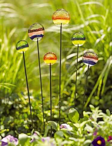 Glass Lollies, Set of 6