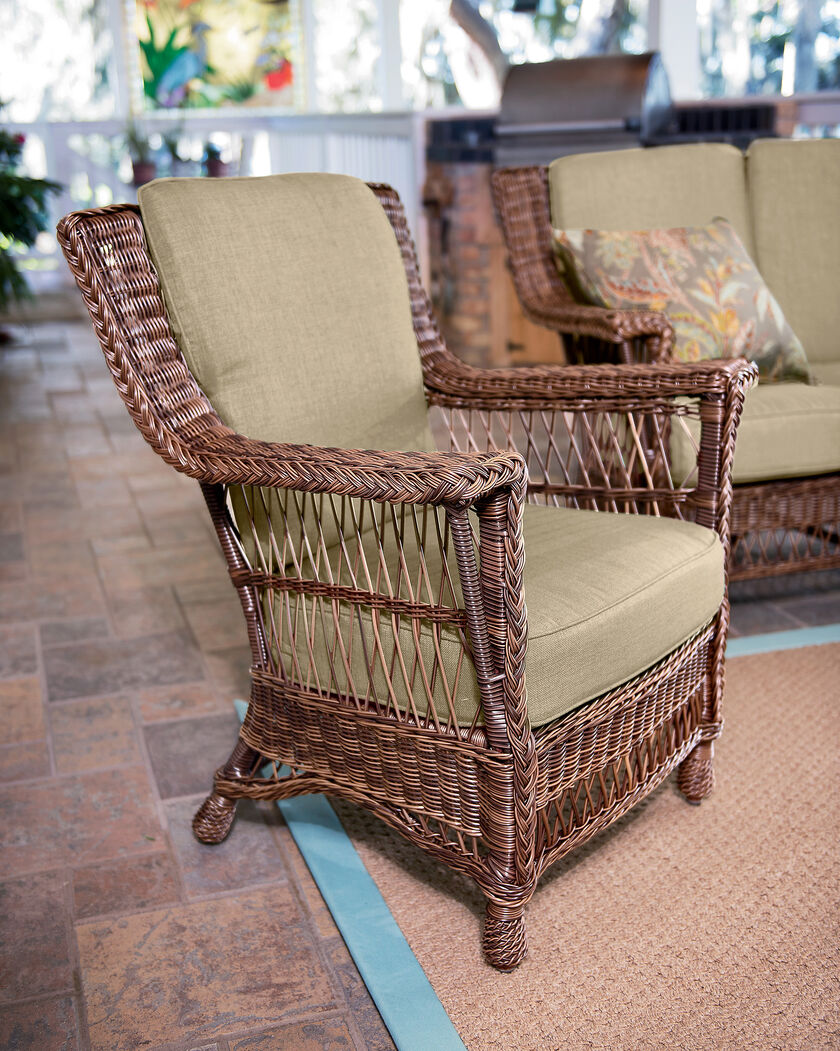 Wicker Armchair - Resin Wicker - Outdoor Wicker Furniture