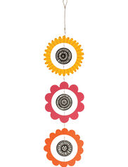 "Yellow, Fuchsia & Orange Studio M Kaleidoscope Mobile, 8"""