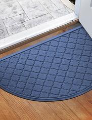 """Water Glutton Cordova Half-Round Doormat, 24"""" x 39"""""""