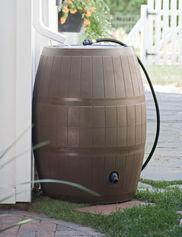 deluxe rain barrel - Decorative Rain Barrels