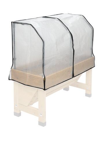 Vegtrug frame greenhouse cover for 40 trough for 18x40 frame