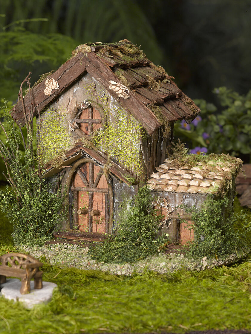 Fairy Garden House Fairy Garden Cottage Gardeners Supply