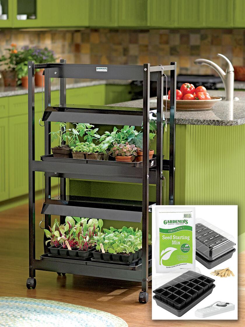 Grow light for houseplants - Compact 2 Tier Garden Starter 174 Grow Light Kit