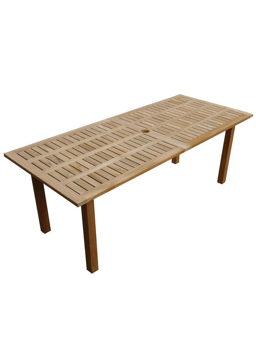 Teak Patio Table Rectangular Teak Dining Table  : 36346001E rectangular teak dining table from www.gardeners.com size 840 x 1120 jpeg 61kB
