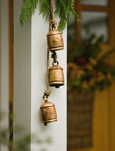 Hanging Temple Bells