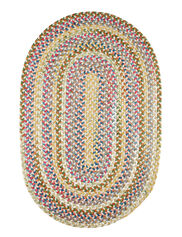 Oval Country Jewel Braided Rugs