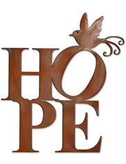 Hope Outdoor Wall Art
