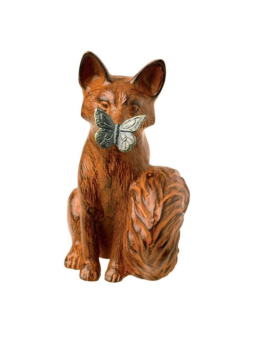 Curious Fox Statue Lawn and Garden Ornaments Gardenerscom