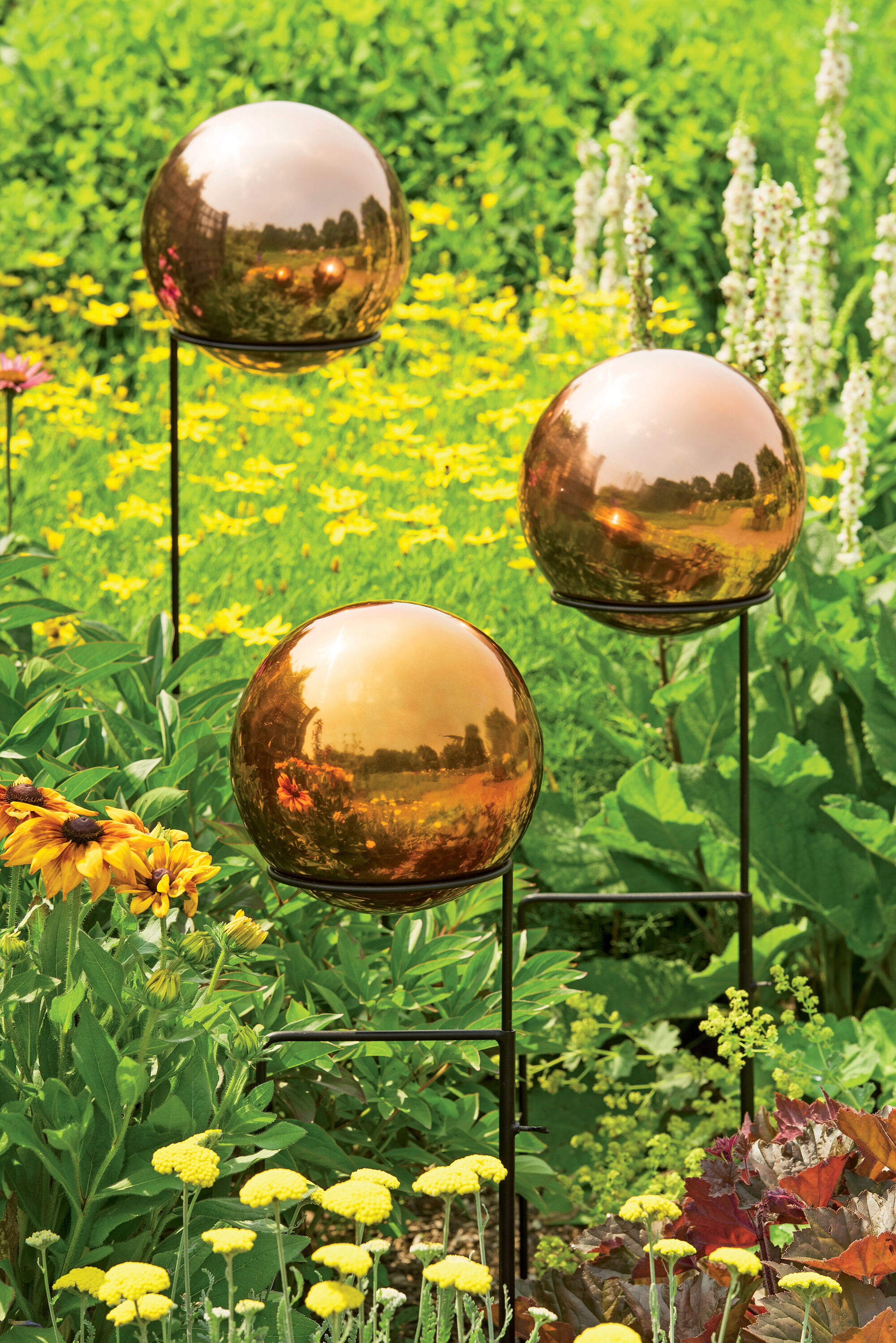 Ordinaire Copper Stainless Steel Gazing Globe