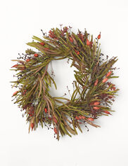 Everlasting Oak Leaf Wreath